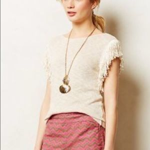 NWT SAM & LAVI BOHO KNIT TOP XS